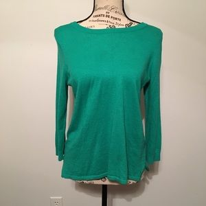 Size Small Ann Taylor Green Sweater